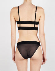 Lonely Edith Brief in Black