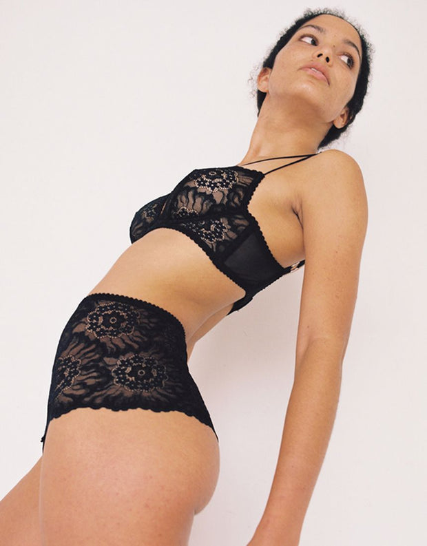 Lonely Label Maeve High Waist Brief Black