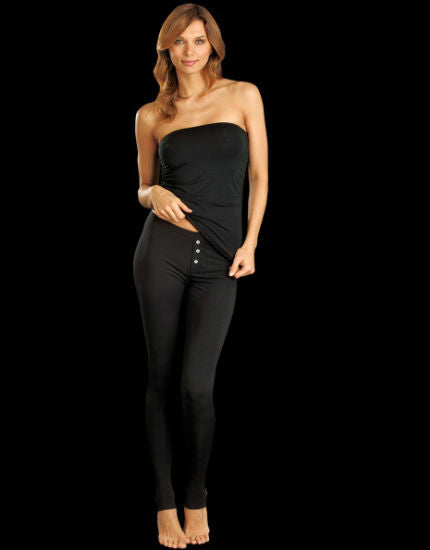 lounge lover black legging pant
