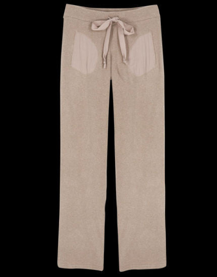 Winter Chill Drawstring Pant in Latte