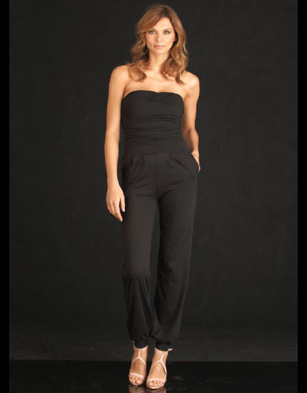 Valerie Black Jumpsuit