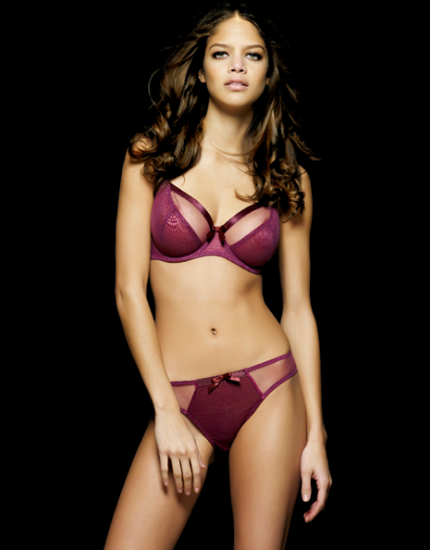 Miss Mandalay paige full cup bra in cassis
