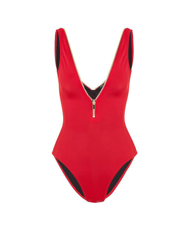 Oye Swimwear Lea One Piece in Red