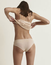 Skin Organic Cotton Boyshort Nude