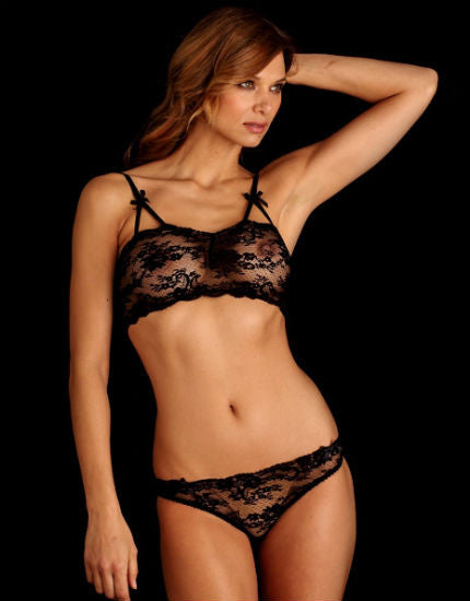 Vanessa Loving Lace Bikini Brief in Black