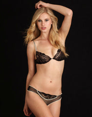 Elodie Hopping Black Lace Underwire Bra