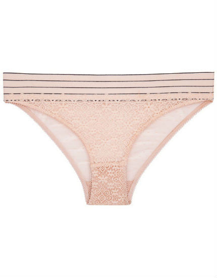 Millie Drawing Bikini Brief in Peony
