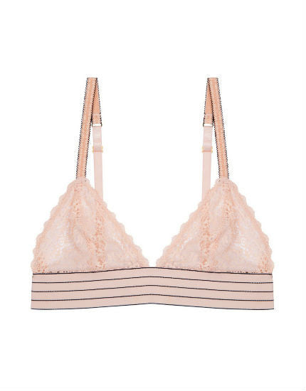 Stella McCartney Millie Drawing Soft Cup Bra in Peony