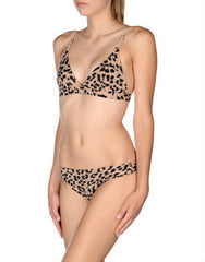 Smooth Leopard Print Soft Cup Bra