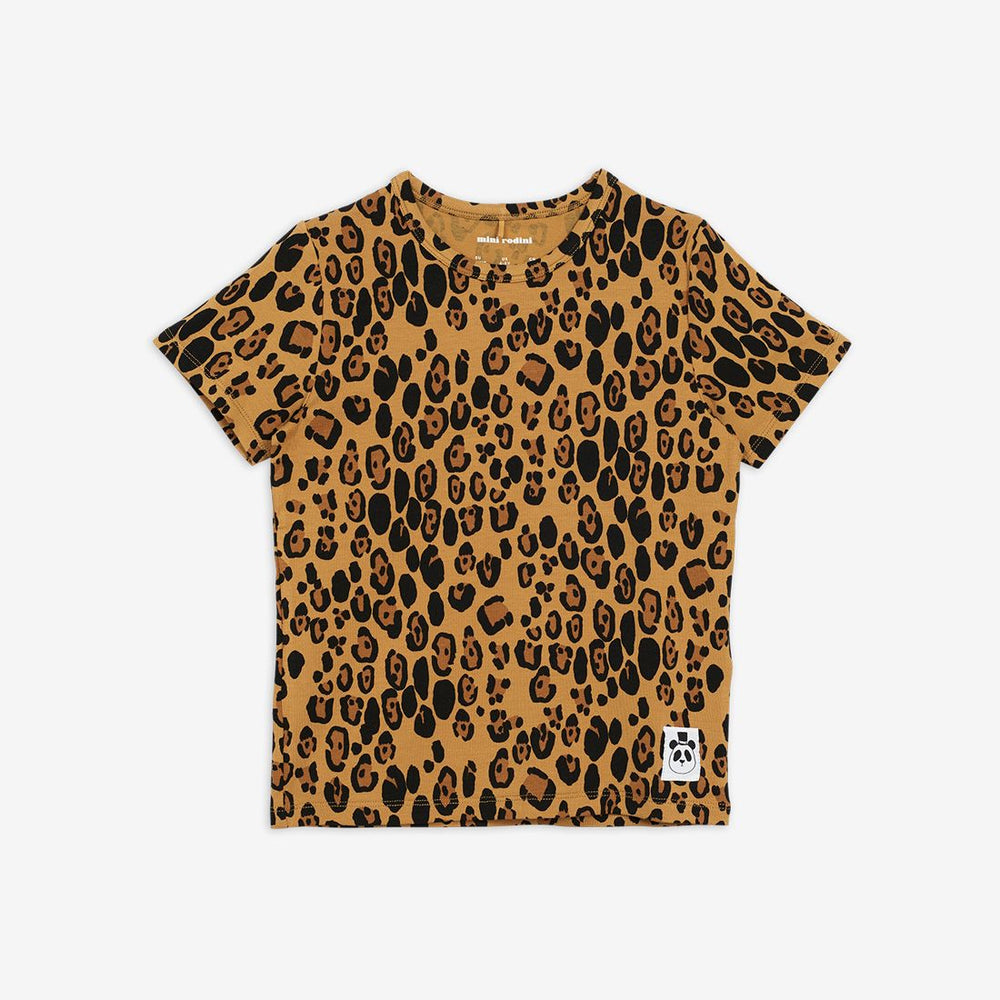 Load image into Gallery viewer, Basic Leopard SS Tee