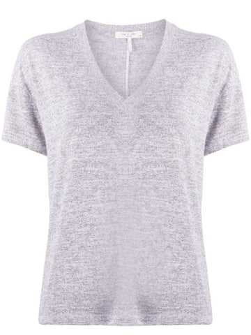 The Knit VNeck SS