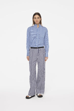 Load image into Gallery viewer, Popeline Camiceria Rigata Trousers