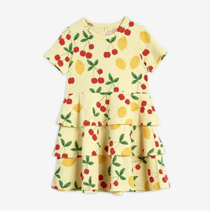 Load image into Gallery viewer, Cherry Lemonade Aop Ss Dress
