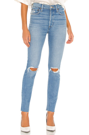 90s High Rise Ankle Crop MD