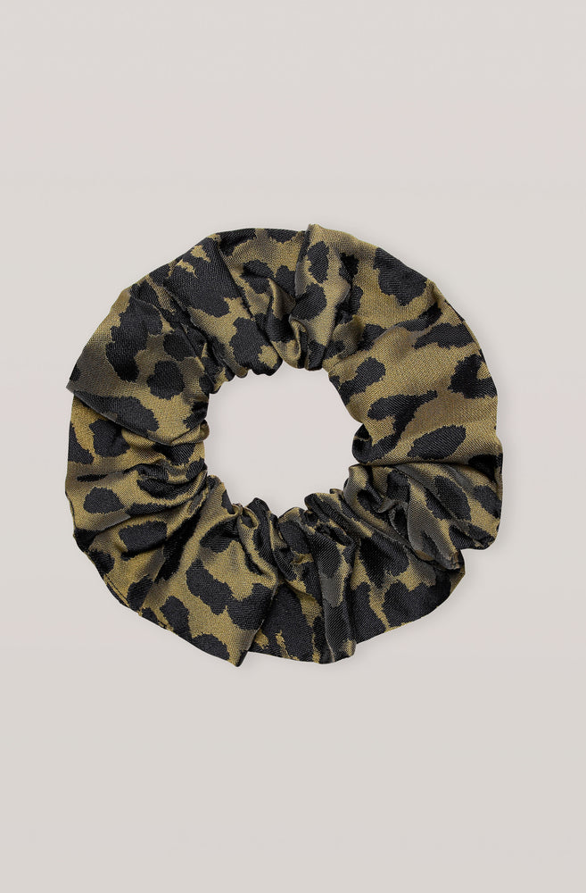 Load image into Gallery viewer, Crispy Jaquard Scrunchie