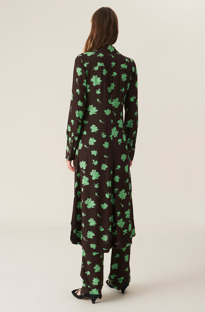 Load image into Gallery viewer, Printed Crepe Dress