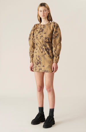 Load image into Gallery viewer, Brocade Jacquard Mini Dress