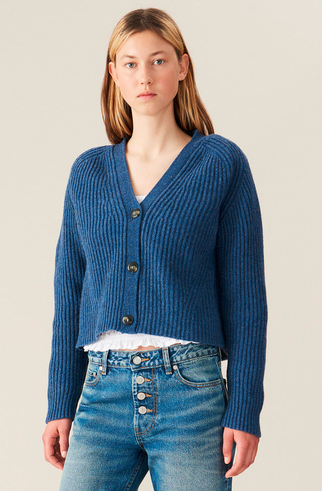 Load image into Gallery viewer, Rib Knit Cardigan