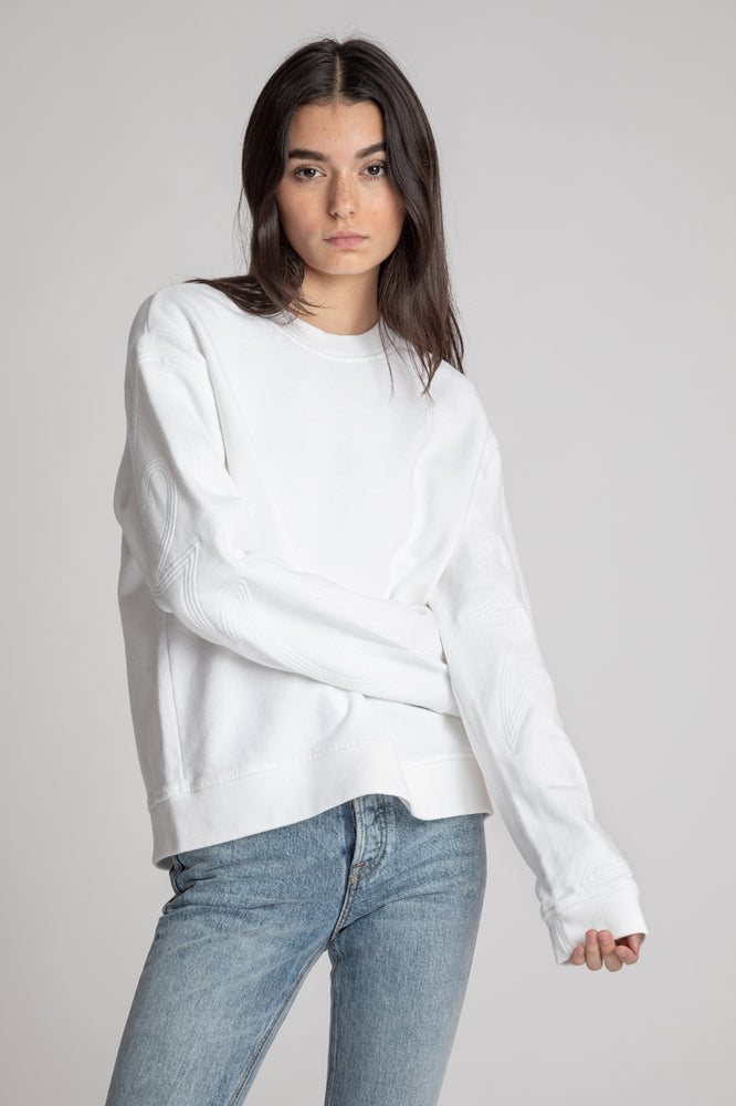 Emilia Sweatshirt w Piping