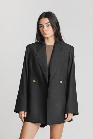 Load image into Gallery viewer, Kaia Blazer Black