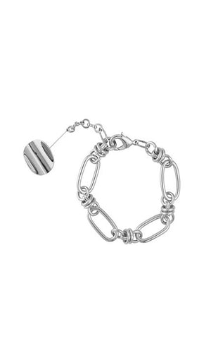 Load image into Gallery viewer, Silver Hops Bracelet