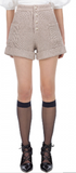 Lurex Knit Shorts