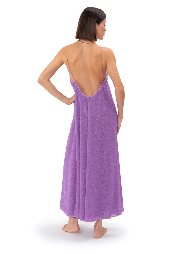 Lilac Long Dress Lumiere