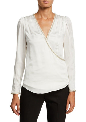 Load image into Gallery viewer, Ivory Viscose Top