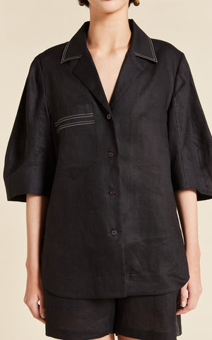 Load image into Gallery viewer, Sidney Cocoon Sleeve Shirt