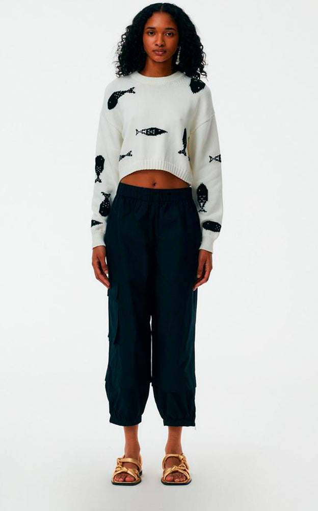 Vintage Cotton Pull On Jogger