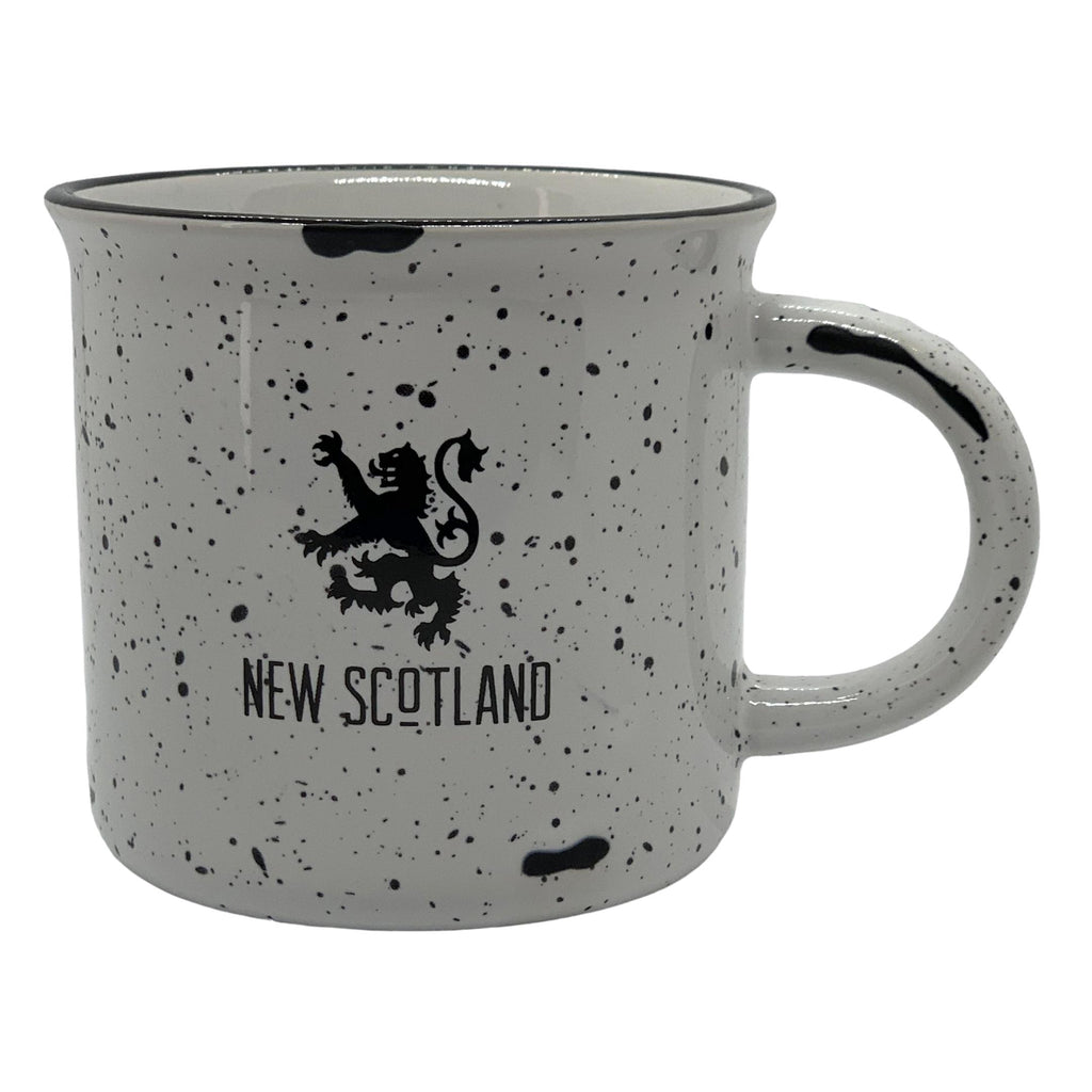 The New Scotland Camp Mug in White