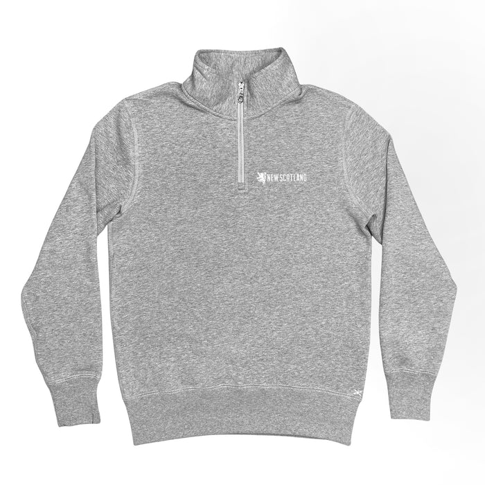 Original Lion Zip Sweatshirt in Grey Mix