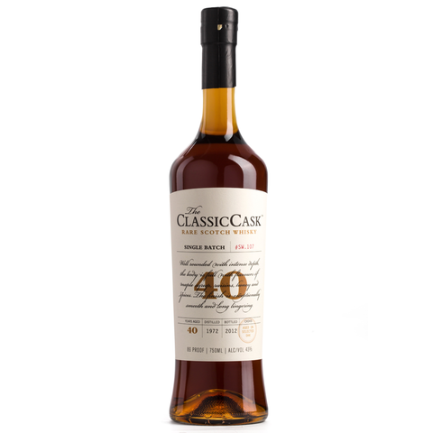 The Classic Cask 40 Year Old