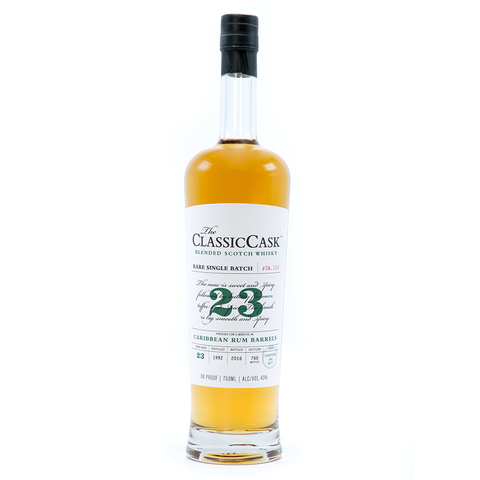 The Classic Cask 23 Year Old Caribbean Rum Barrels