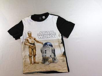 T-shirt m.c blanc.noir Star Wars