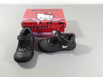 NEUF Chaussures gris foncé Hello Kitty