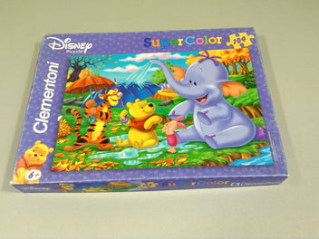 Puzzle Super Color 104 pièces Winnie l'ourson
