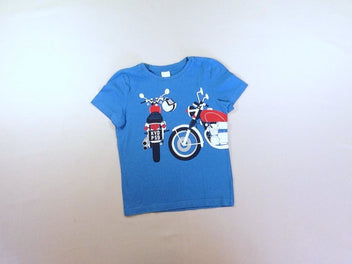 T-shirt m.c bleu motos