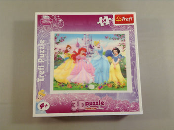 Puzzle 3D Princess, 64pcs Disney, +4a