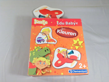 Edu Baby couleurs, puzzles, 2+