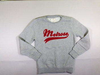 Sweat gris chiné Melrose