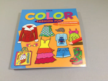 Livre de coloriage fashion fun + magicolor