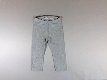 Legging court gris chiné