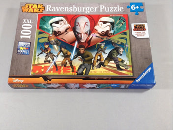 Puzzle Star Wars, 100pcs, +6a