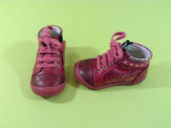 Bottines fushia