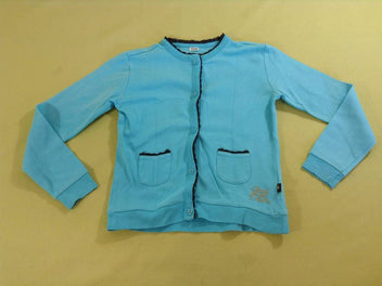 Gilet jersey turquoise
