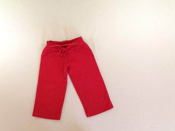 Pantalon molleton rouge