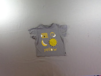 T-shirt m.c gris Yellow