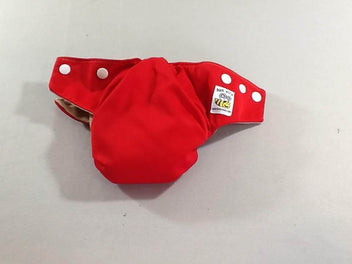 Bumware couche TE1 rouge, small (3 à 5,5kg)