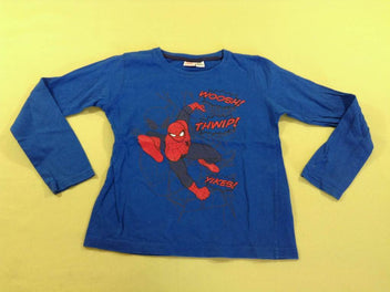 T-shirt m.l bleu Spiderman